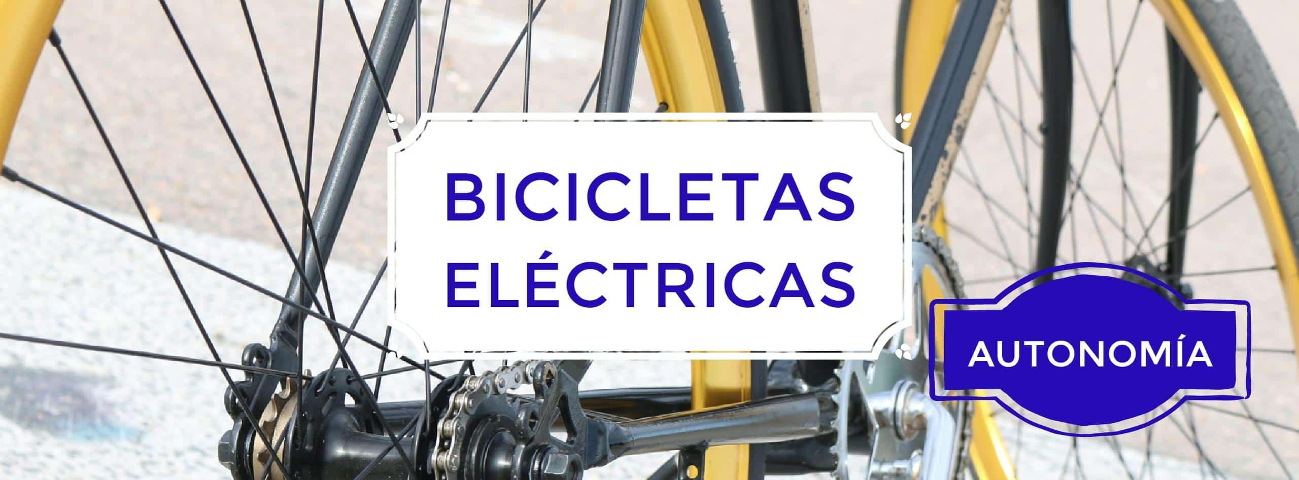 - Bicicletas eléctricas