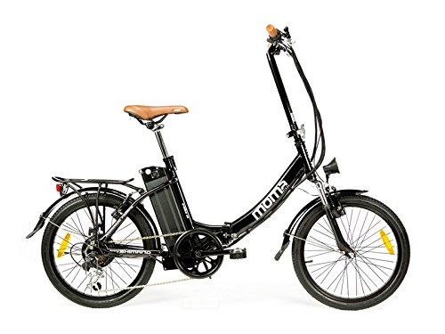 - Moma Bikes - Bicicleta Eléctrica Plegable SHIMANO