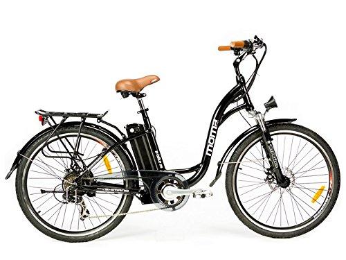 - Moma - Bicicleta Eléctrica Paseo SHIMANO
