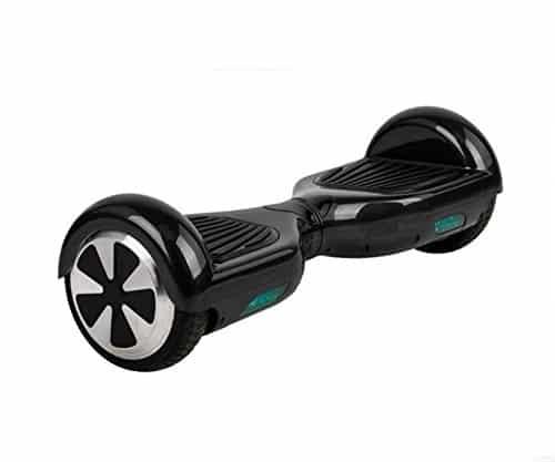 - Hoverboard eléctrico ruedas 6,5 pulgadas, Negro