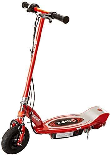 - Razor E100 - Patinete eléctrico, color rojo